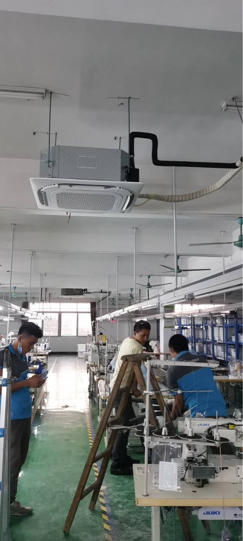 美的(Midea)商用中央空调3匹天花机冷暖新能效220V办公室商铺嵌入式吸顶机RFD-72QW/DN8Y-D(D3)