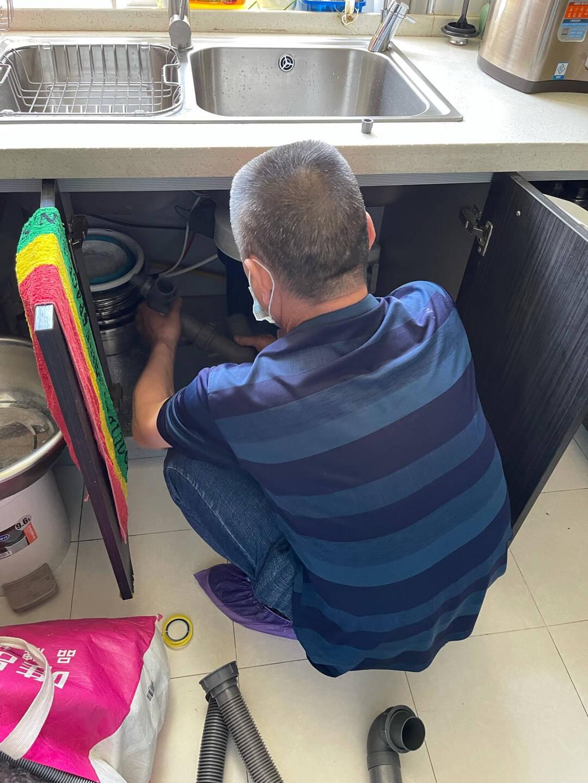 欧琳(OULIN)厨余垃圾处理器家用厨房垃圾粉碎机可接洗碗机KDS605赠配套下水管