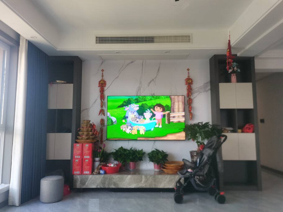 海尔(haier)65英寸平板电视4K高清液晶电视智能语音WiFi8K解码手机投屏电视机65英寸4K超高清智能全面屏电视(2+16G)