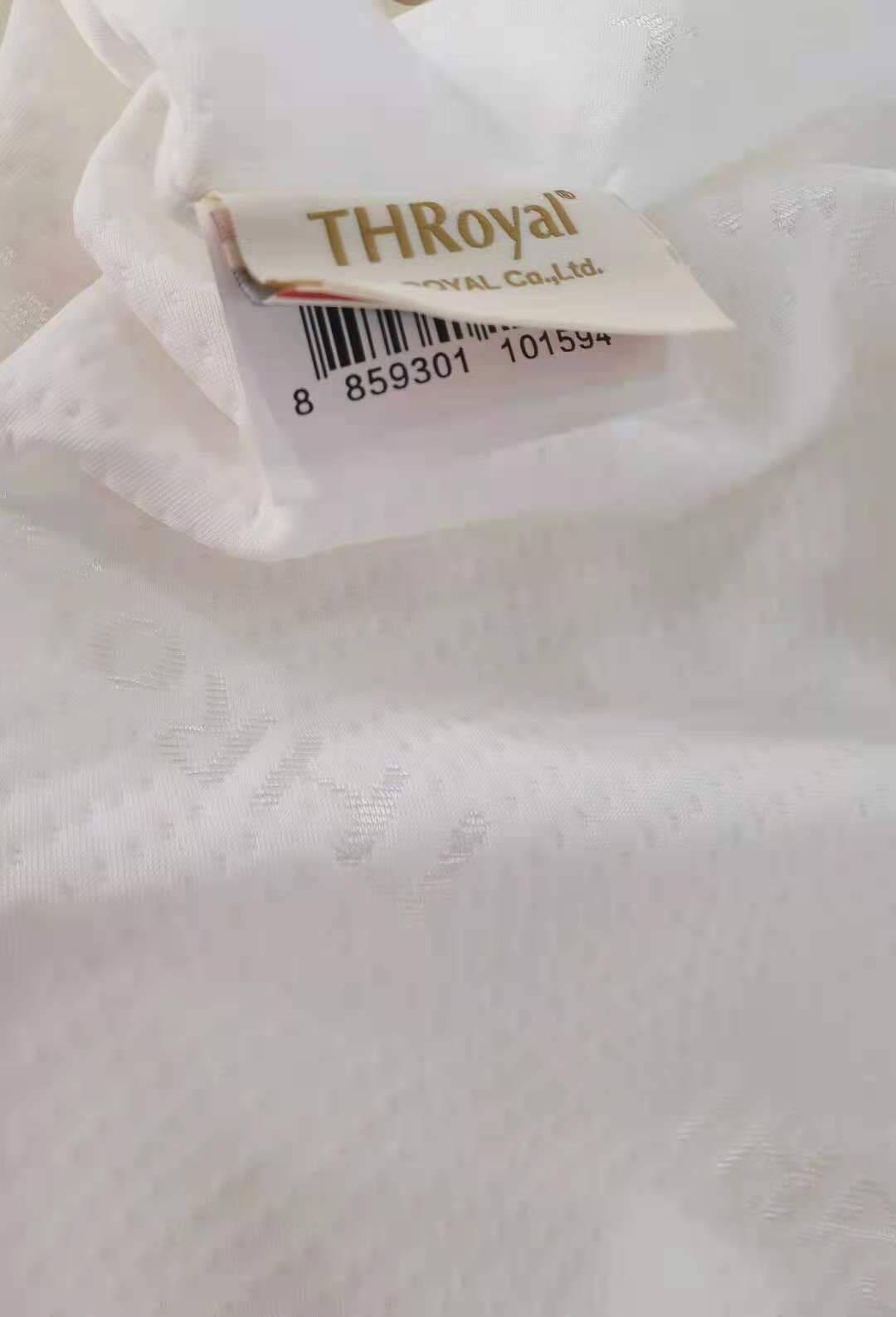 THRoyal泰国原装进口乳胶床垫七区按摩颗粒款1.2/1.5/1.8米单人双人天然橡胶床垫七区按摩厚7.5cm(乳胶含量93%)95D密度180*200cm
