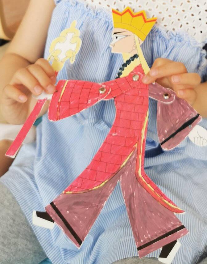 智汇皮影戏材料diy手工西游记人物儿童玩具游戏的道具孙悟空人偶幼儿园绘画制作材料包暑假生日礼物皮影戏八件套