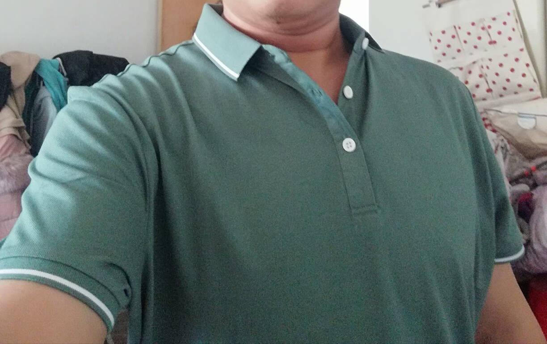 罗蒙T恤男2021夏季商务POLO时尚简约男士棉质翻领休闲短袖T恤LM27DKMJ8250藏青色2XL