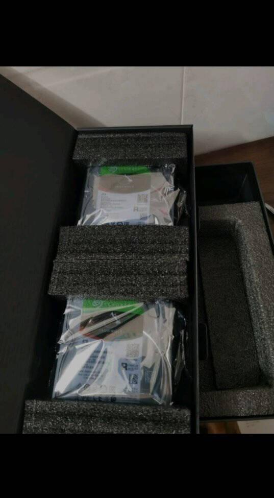 绿联私有云Nas网络云存储(双盘位配2*4T酷狼硬盘)家庭个人云网盘网络存储硬盘服务器双重加密/远程访问