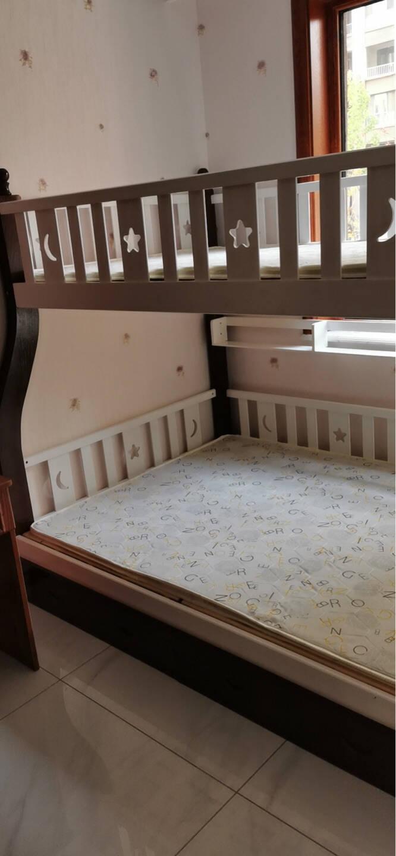 精冠儿童床实木男女孩上下铺上下床双人床高低床成人子母床双层床
