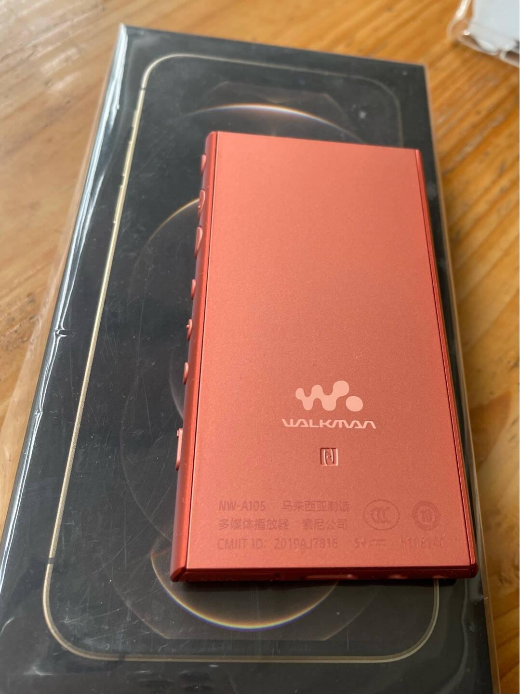 索尼(SONY)NW-A105HN无线Hi-Res安卓9.0高解析度无损音乐播放器MP3(附带降噪耳机)黑色