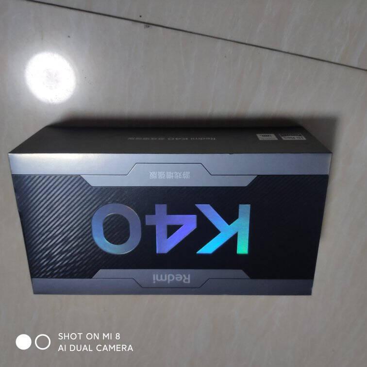 RedmiK40游戏增强版天玑1200处理器67W闪充120Hz高刷直屏8GB+256GB暗影游戏电竞智能5G手机小米红米