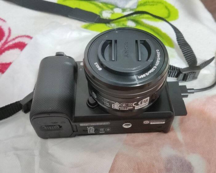 索尼(SONY)ZV-E10Vlog微单数码相机标准镜头套装APS-C画幅小巧便携4K专业视频黑色