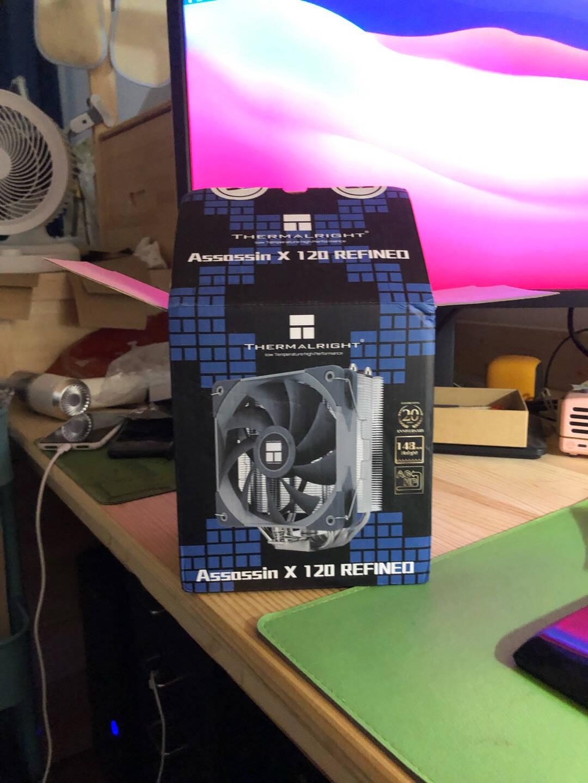 利民(Thermalright)AX120RCPU风冷散热器AGHP逆重力热管支持AM44热管S-FDB12CM风扇附带硅脂