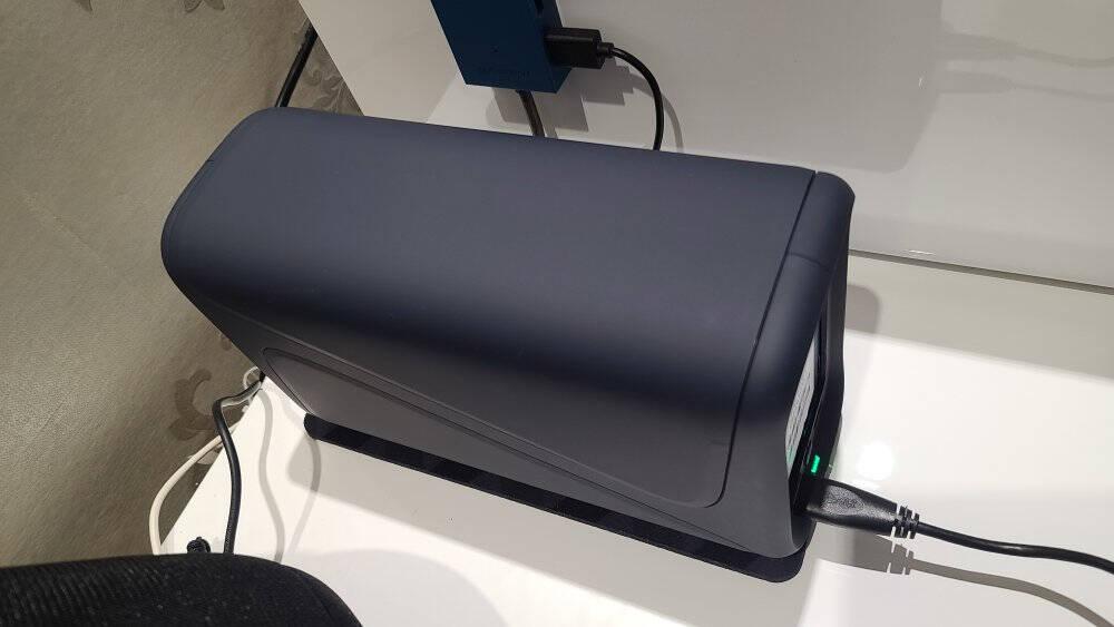 极空间个人云Z2四核2盘位NAS私有云网络存储服务器(无内置硬盘)星空蓝色
