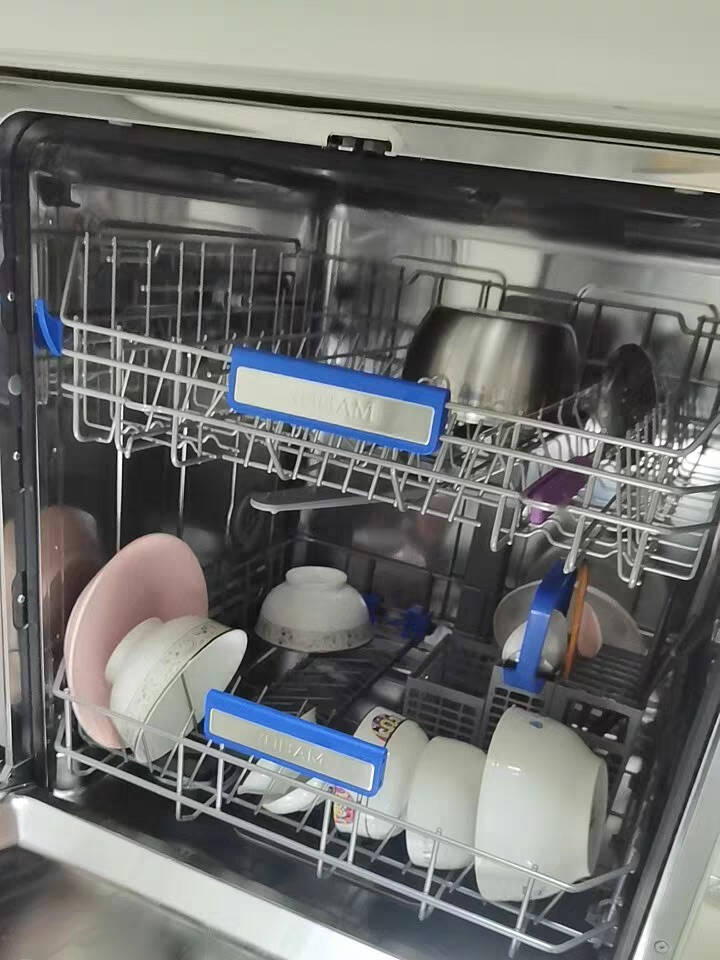 老板WB791D13套大容量洗碗机嵌入式家用洗碗机强力三叉喷淋下层洗轻载三锅同洗