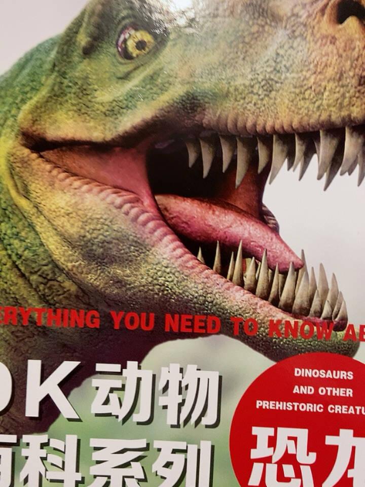 DK动物百科系列:恐龙