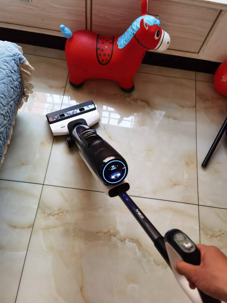 添可(TINECO)智能无线洗地机芙万洗地机+智能无线吸尘器飘万Mini套装芙万+Mini元气红白