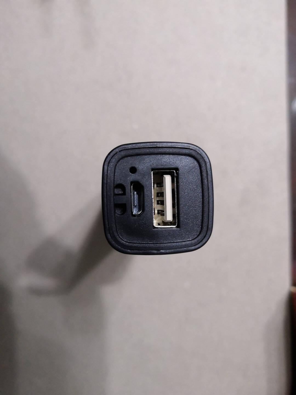 微笑鲨强光手电筒小型迷你便携USB充电LED远射超亮小手电家用户外普通功能【低配900K微光】黑色