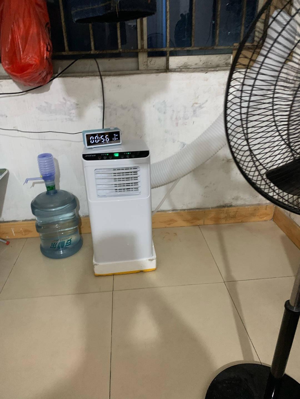 格力压缩机夏新移动空调冷暖一体机1匹1.5匹2P家用厨房客厅便捷立式空调可除湿宿舍免安装免排水迷你1.5P冷热两用款