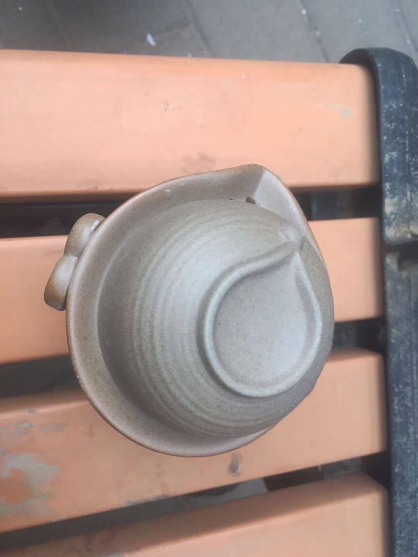 页川百世旅行茶具套装快客杯一壶二杯简易便携收纳车载功夫茶具岩泥A