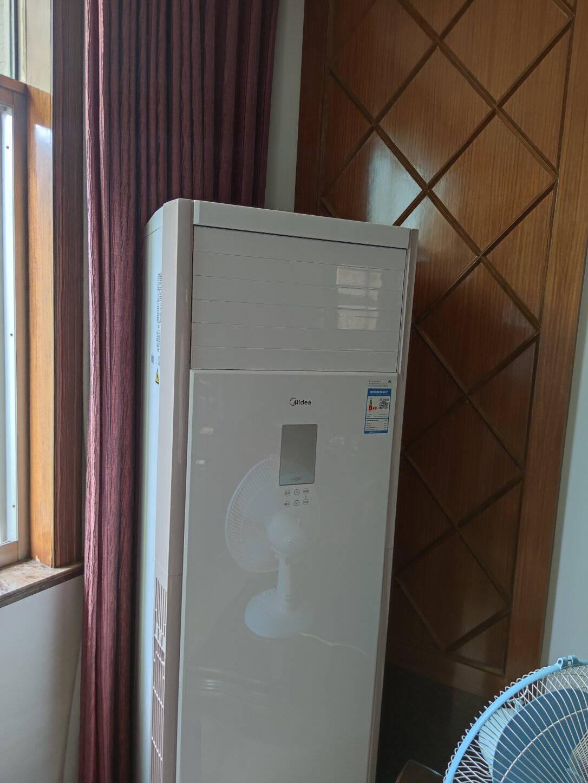美的(Midea)5匹柜式空调商用柜机中央空调5匹单冷变频新能效380VLF-120LW/BSN8Y-PA401(B3)A包5米铜管