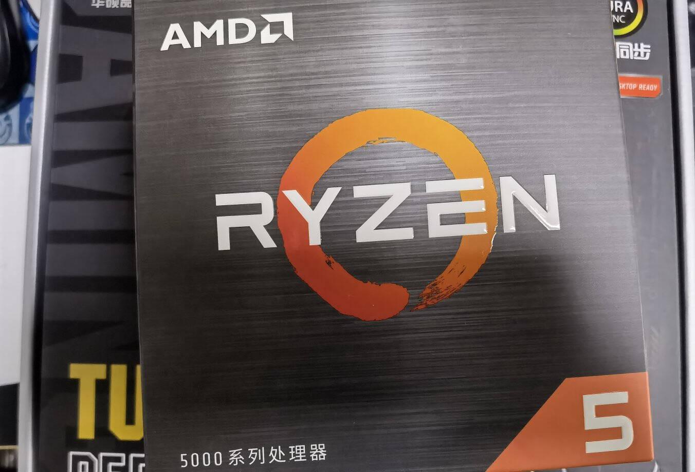 AMD锐龙五代5600X5800X5900X5950X搭华硕B550重炮手主板CPU套装华硕TUFGAMINGB550M-EWIFIR55600X散片CPU套装