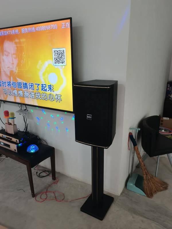 KKH家庭ktv音响套装语音点歌一体机家用影院卡拉ok功放音箱点唱机台L9L9套装2TB