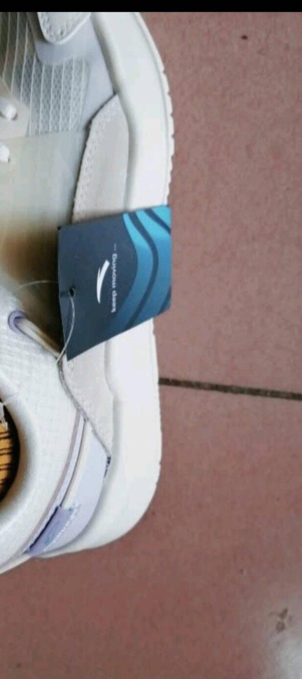 安踏板鞋女休闲鞋2021年夏季新款滑板鞋女子时尚板鞋潮流小白鞋922128820象牙白/白灰绿-46.5(女37.5)