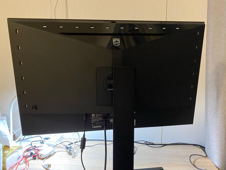 飞利浦27英寸2K电竞显示器,兼具工作游戏和手机用