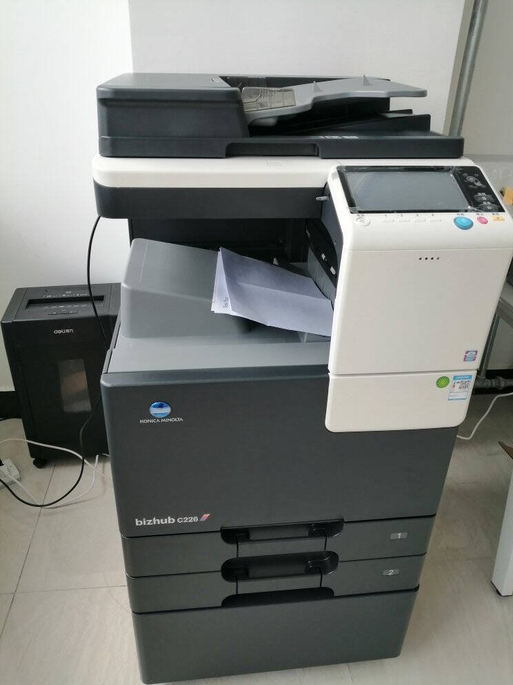 柯尼卡美能达KONICAMINOLTAbizhubC226A3彩色复合机一体机复印打印扫描(自动双面+双纸盒+工作台)