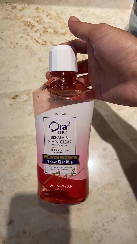 皓乐齿(Ora2)亮白净色牙膏(鲜桃薄荷140g)温和去渍天然果香约会必备日本原装进口(新老包装随机发放)