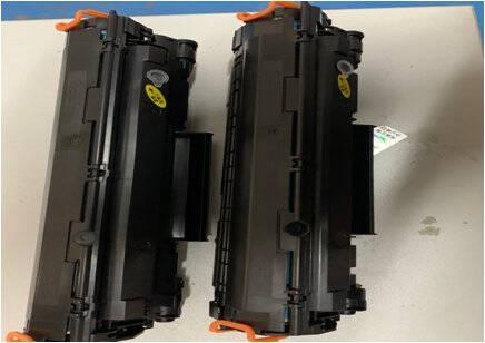 班图CF500A/202A黑色硒鼓带芯片适用惠普m281fdw硒鼓m254dwM254nw/dnM280nwM281fdn彩色墨粉盒