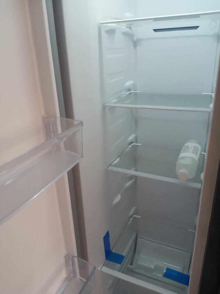 美菱(MELING)435升对开门电冰箱双开门家用风冷无霜双变频净味养鲜-32度速冻一级能效BCD-435WPCX超薄嵌入