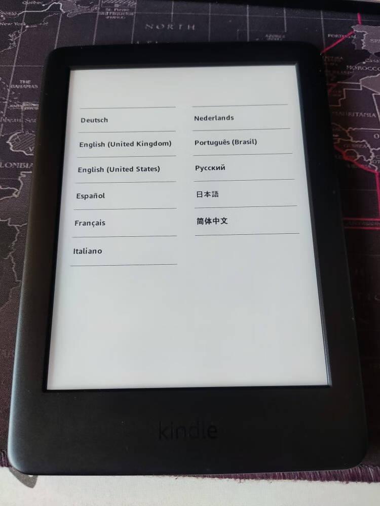 kindlepaperwhite4电子阅读器电纸书墨水屏墨黑色6英寸WiFi8G