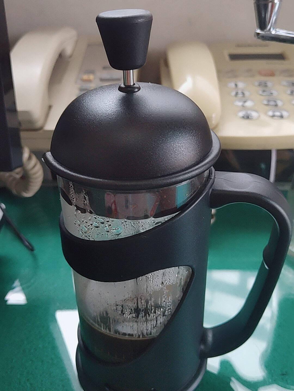 美喜啡(Thefavoritecoffee)咖啡壶套装法压壶滤压壶过滤器家用法压杯冲茶器手冲350ML/赠量粉勺