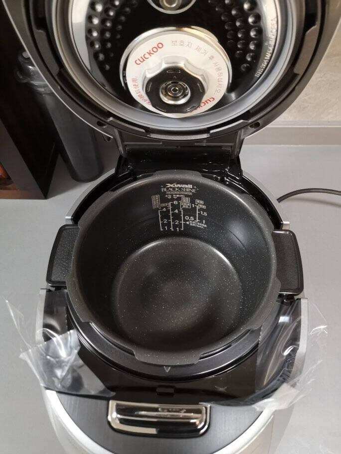 福库CUCKOO韩国原装进口电饭锅IH电磁加热智能预约语音自动洗涤多功能家用高压电饭煲3L/5LCRP-DHXS0688FS(3升)