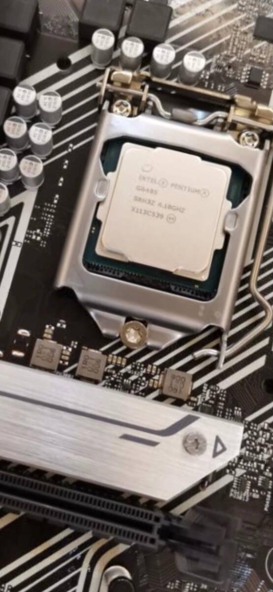 英特尔(Intel)G6405奔腾2核4线程盒装CPU处理器