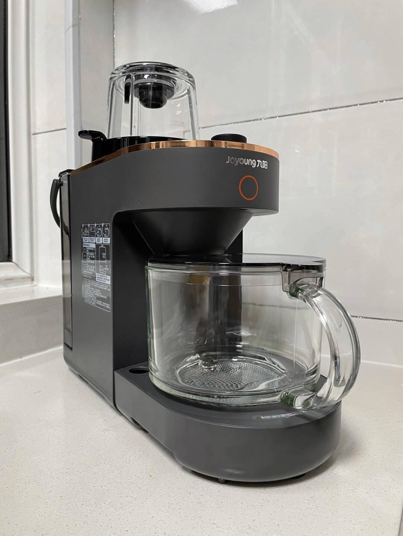 九阳(Joyoung)破壁机家用低音不用手洗高端多功能预约料理机榨汁机豆浆机Y536(SKY系列)