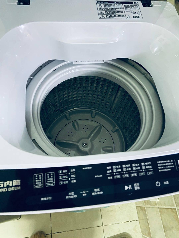 荣事达4.5/8/10公斤全自动波轮洗衣机家用小型迷你宿舍租房大容量RO8公斤升级内桶铝制加厚涡旋转轮加强