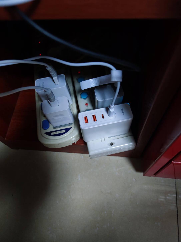 倍思数据线一拖三快充100W/40W/20W/18W二拖三转接线支持苹果12Type-C安卓华为小米电脑充电器线黑