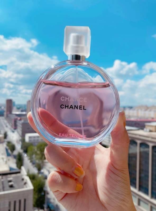 Chanel香奈儿香水邂逅系列淡香氛EDT女士持久五号之水可可小姐留香礼盒装送女友情人节礼物粉邂逅柔情淡香水35ml