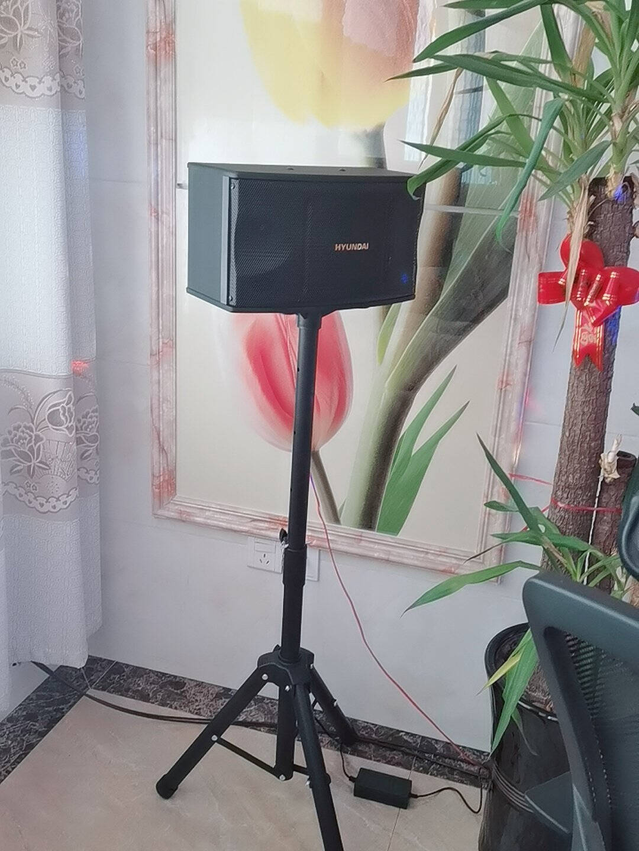 现代(HYUNDAI)音响音箱家庭影院点歌机套装家庭ktv家用唱歌卡拉OK无线蓝牙功放卡包设备【HY602升级版KTV音响套装】