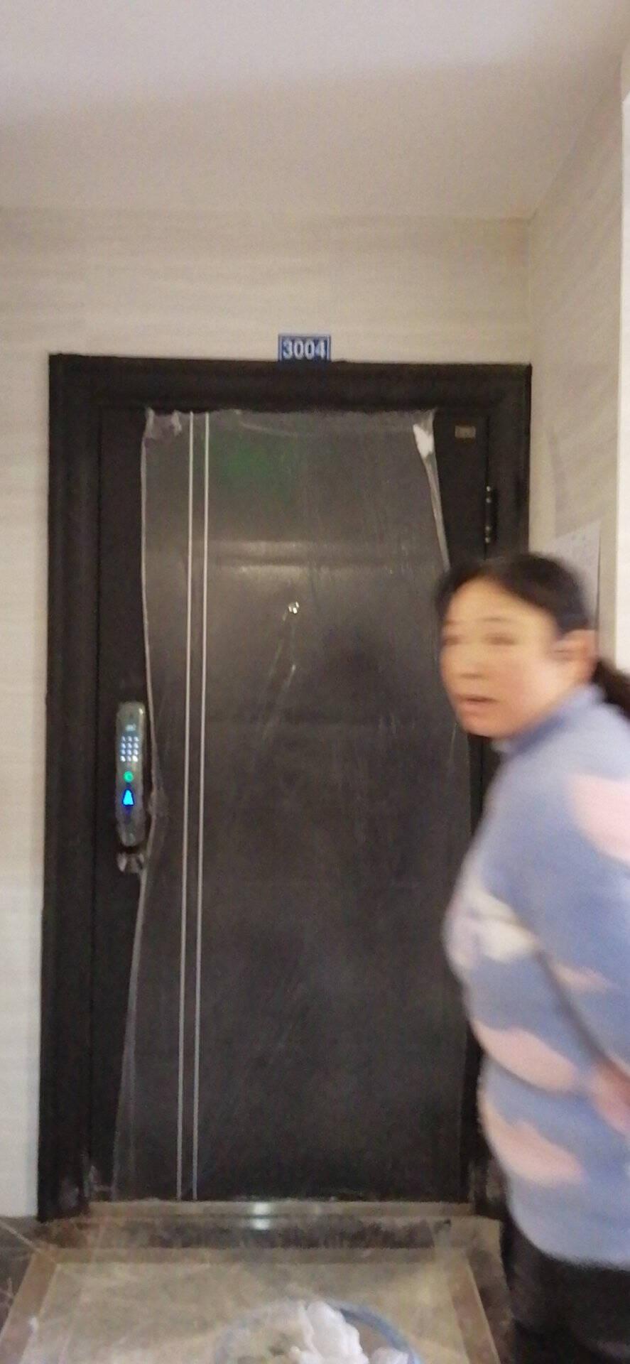 尧盾防盗门智能安全门进户门入户门家用大门防撬门超全尺寸有内开常规尺寸+机械锁配置左内开
