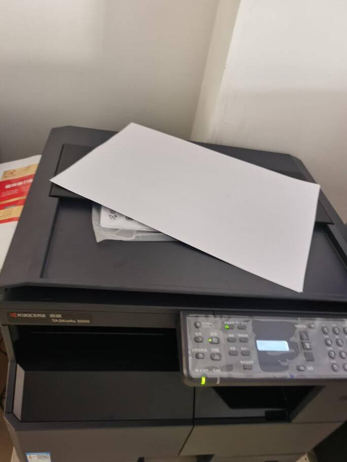 京瓷2020/2021黑白激光多功能一体机升级款A3复合机A3A4办公打印扫描复印机大型打印机2020标配(打印+复印+扫描)