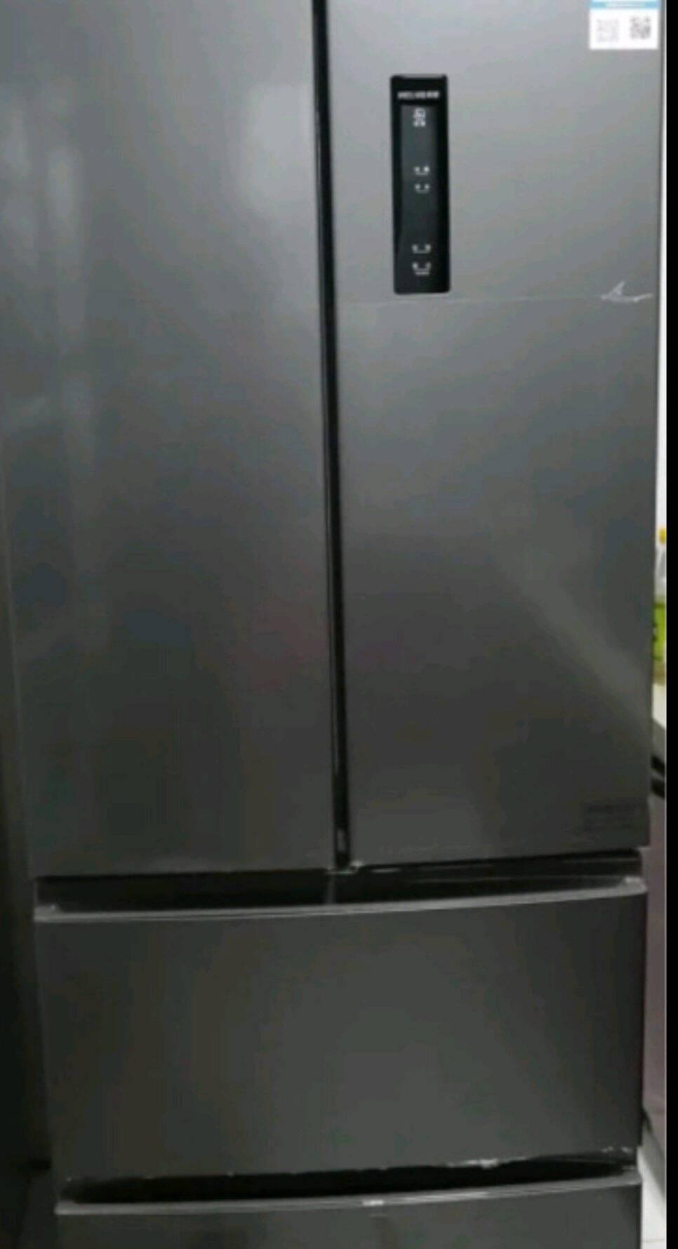 美菱(MELING)366升法式四门多门电冰箱家用风冷无霜智能双变频-32度速冻净味节能降噪一级能效BCD-366WP9CX