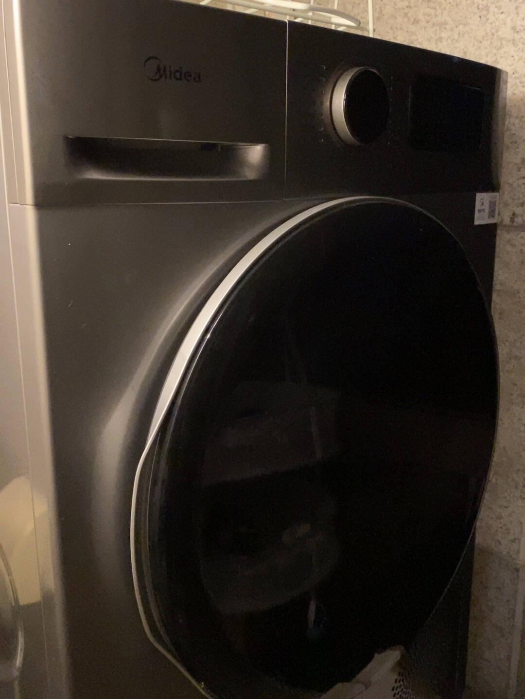 美的(Midea)洗烘套装10kg滚筒洗衣机全自动+热泵烘干机智能初见系列MG100V70WD5-Y1Y+MH100VTH707WY