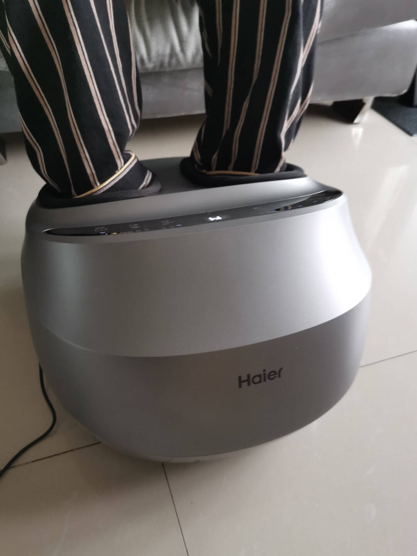 海尔(Haier)足疗机足部脚部脚底穴位按摩器多功能按摩仪脚步按摩机器生日母亲节送礼物W1-101PU9