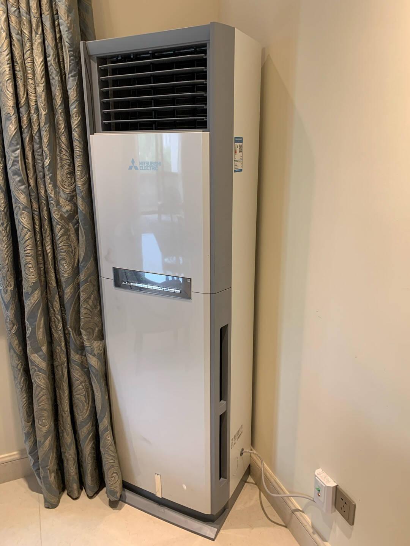 三菱电机2匹1级能效全直流变频制热取暖器暖风机空调立式柜机MFZ-XEJ50VA(白色)