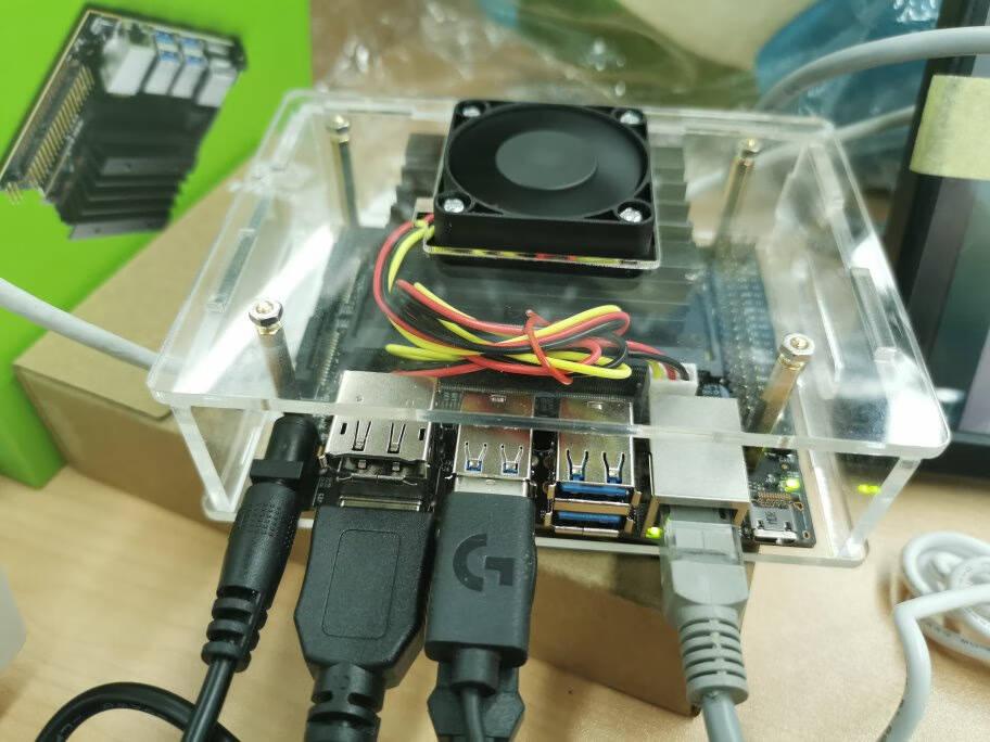 NVIDIA英伟达JetsonNano人工智能AI嵌入式开发板套件AI人工智能脸识别Nano电源适配器