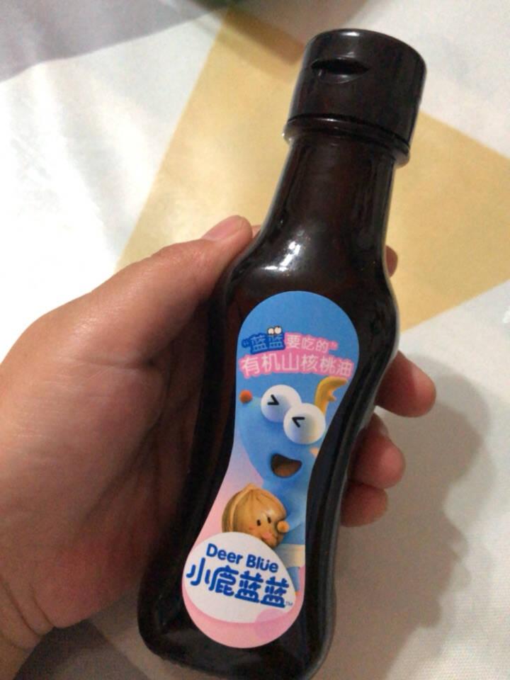 小鹿蓝蓝_有机山核桃油宝宝孕妇物理冷榨DHA营养食用油100ml