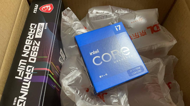 英特尔Inteli7-11700K8核16线程盒装CPU处理器
