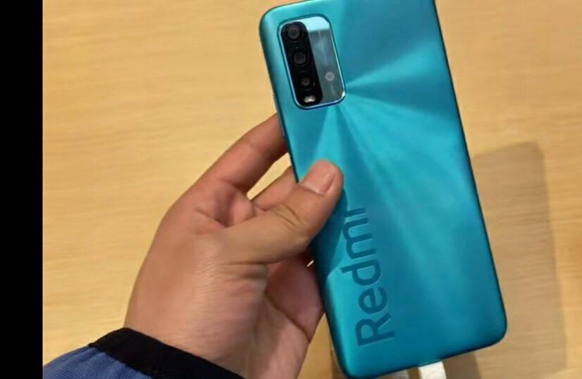 小米Redmi红米Note9/note94G手机雾光青全网通4G(4GB+128GB)