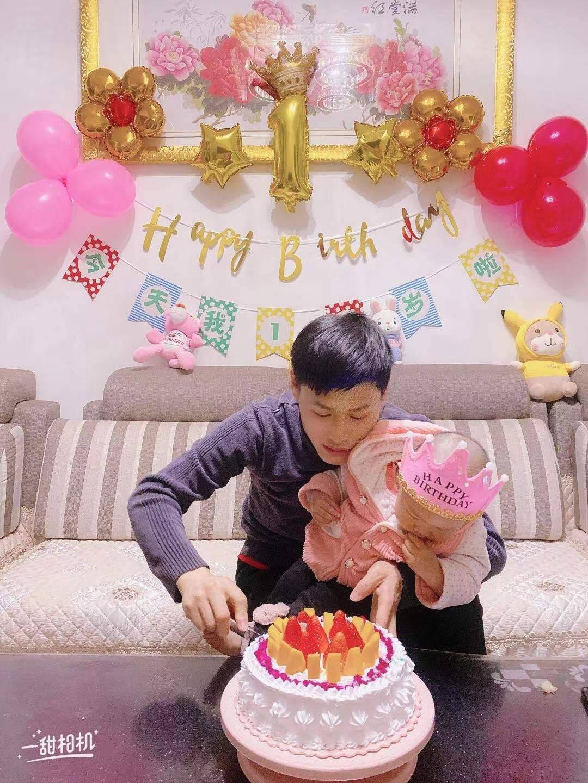 演绎生日装饰男孩女孩宝宝周岁生日布置气球套餐儿童一周岁生日快乐派对场景布置装饰用品一周岁生日拉旗气球套餐