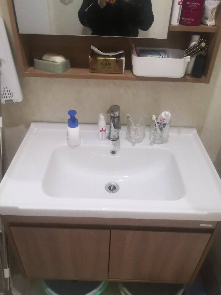 惠达(HUIDA)实木浴室柜组合1322-80CM