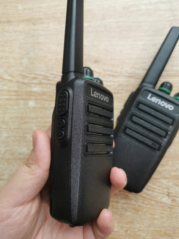 联想(lenovo)CC对讲机全国通不限距离4G全国对讲机5000公里工地办公户外自驾游手台
